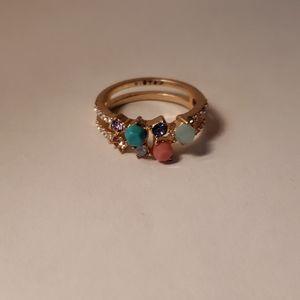 Chloe + Isabel Mosaico Ring, size 8